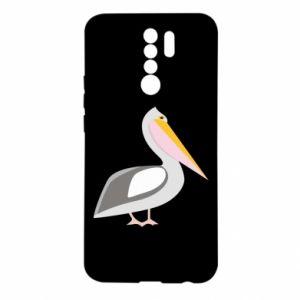 Etui na Xiaomi Redmi 9 Romantyczny Pelikan
