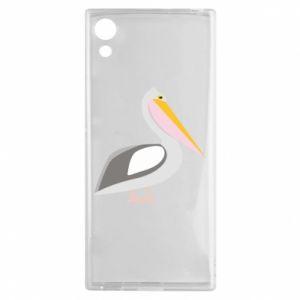 Etui na Sony Xperia XA1 Romantyczny Pelikan