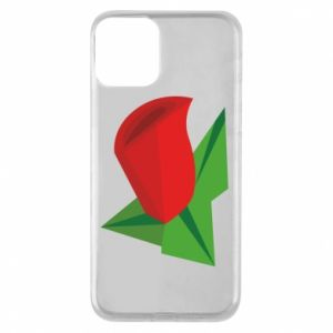 Etui na iPhone 11 Rose flower abstraction