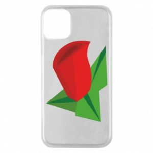 Etui na iPhone 11 Pro Rose flower abstraction