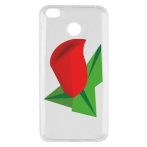 Etui na Xiaomi Redmi 4X Rose flower abstraction