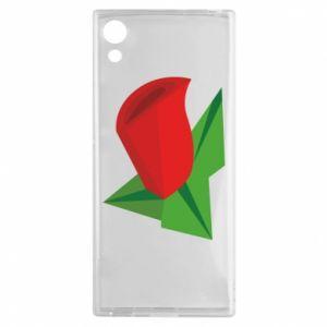 Etui na Sony Xperia XA1 Rose flower abstraction