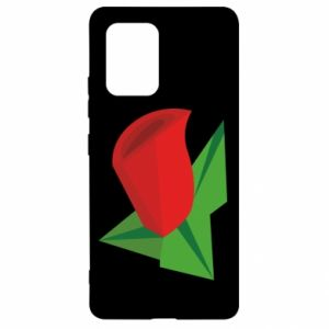 Etui na Samsung S10 Lite Rose flower abstraction