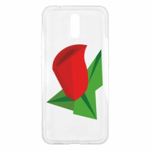 Etui na Nokia 2.3 Rose flower abstraction