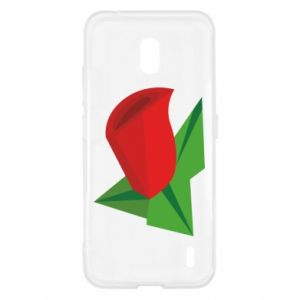 Etui na Nokia 2.2 Rose flower abstraction