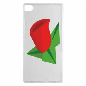 Etui na Huawei P8 Rose flower abstraction