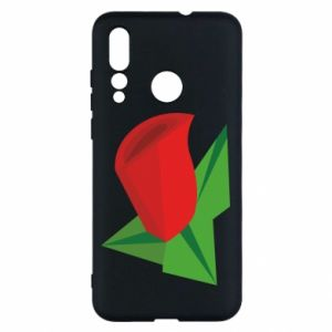 Etui na Huawei Nova 4 Rose flower abstraction