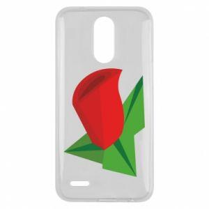 Etui na Lg K10 2017 Rose flower abstraction