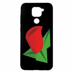 Etui na Xiaomi Redmi Note 9/Redmi 10X Rose flower abstraction