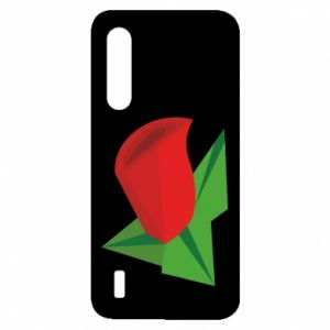 Etui na Xiaomi Mi9 Lite Rose flower abstraction
