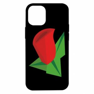 Etui na iPhone 12 Mini Rose flower abstraction