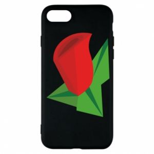 Etui na iPhone 7 Rose flower abstraction