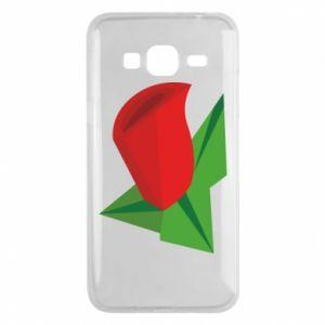 Etui na Samsung J3 2016 Rose flower abstraction