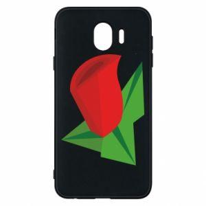 Etui na Samsung J4 Rose flower abstraction