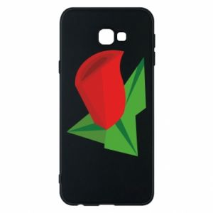 Etui na Samsung J4 Plus 2018 Rose flower abstraction