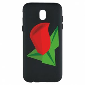 Etui na Samsung J5 2017 Rose flower abstraction