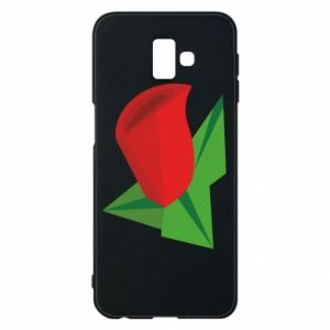 Etui na Samsung J6 Plus 2018 Rose flower abstraction