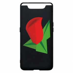 Etui na Samsung A80 Rose flower abstraction