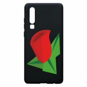 Etui na Huawei P30 Rose flower abstraction