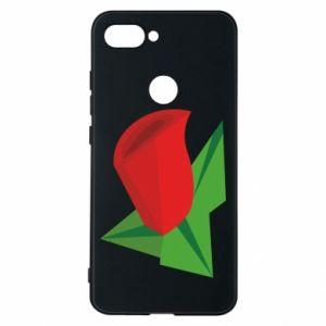 Etui na Xiaomi Mi8 Lite Rose flower abstraction