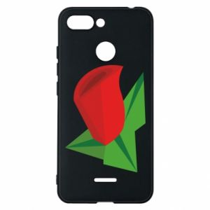 Etui na Xiaomi Redmi 6 Rose flower abstraction
