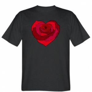 Koszulka Rose heart - PrintSalon