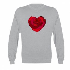 Bluza dziecięca Rose heart