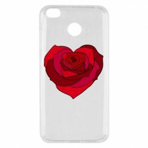 Etui na Xiaomi Redmi 4X Rose heart