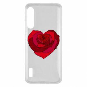 Etui na Xiaomi Mi A3 Rose heart