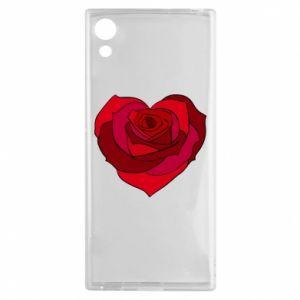 Etui na Sony Xperia XA1 Rose heart