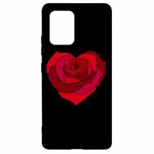 Etui na Samsung S10 Lite Rose heart
