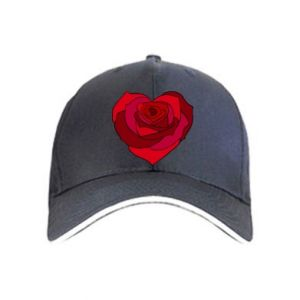 Cap Rose heart