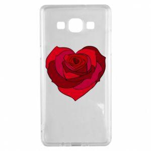 Etui na Samsung A5 2015 Rose heart