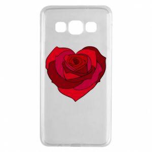 Etui na Samsung A3 2015 Rose heart