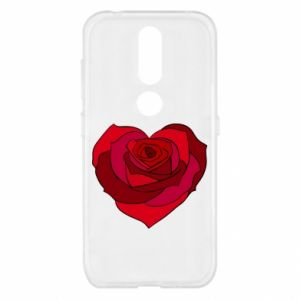 Etui na Nokia 4.2 Rose heart