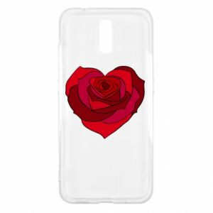 Etui na Nokia 2.3 Rose heart