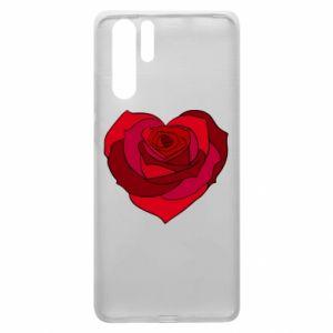 Etui na Huawei P30 Pro Rose heart