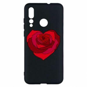 Etui na Huawei Nova 4 Rose heart