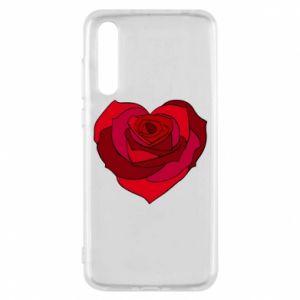 Etui na Huawei P20 Pro Rose heart