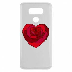 Etui na LG G6 Rose heart