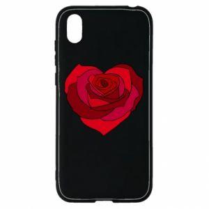 Etui na Huawei Y5 2019 Rose heart