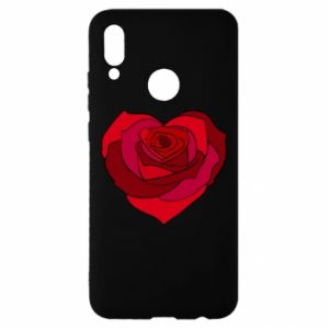 Etui na Huawei P Smart 2019 Rose heart