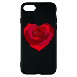 Etui na iPhone SE 2020 Rose heart
