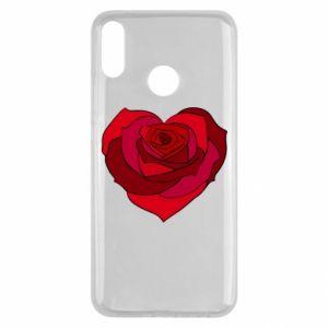 Etui na Huawei Y9 2019 Rose heart
