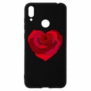 Etui na Huawei Y7 2019 Rose heart