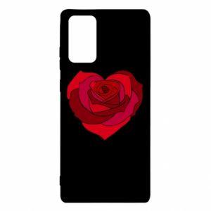 Etui na Samsung Note 20 Rose heart