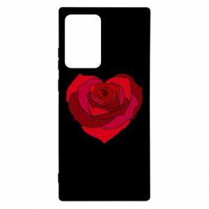 Etui na Samsung Note 20 Ultra Rose heart