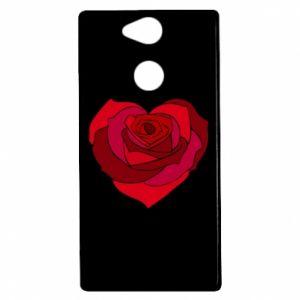 Etui na Sony Xperia XA2 Rose heart