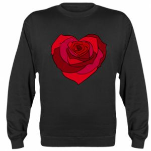 Bluza (raglan) Rose heart