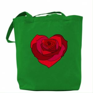 Torba Rose heart - PrintSalon
